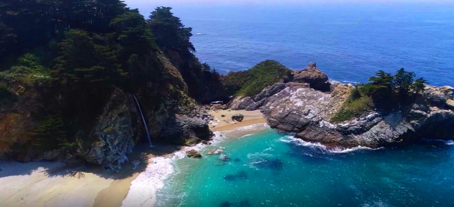 Big-Sur-attractions-waterfalls-beaches-Parks