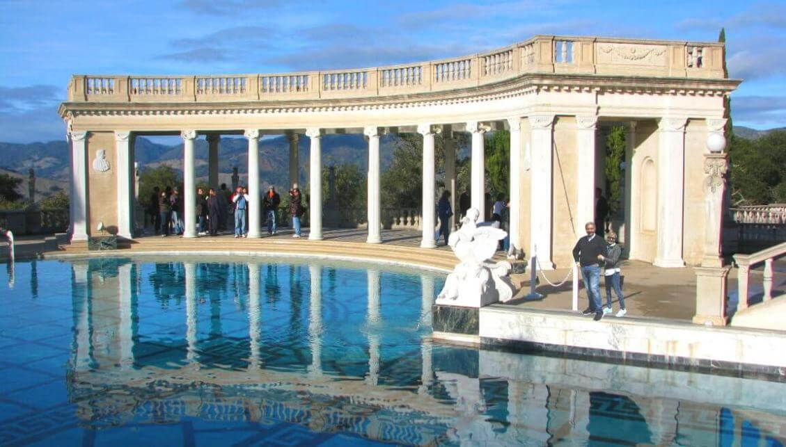 Hearst-Castle-Neptune-Pool-Art-Castle-Tours