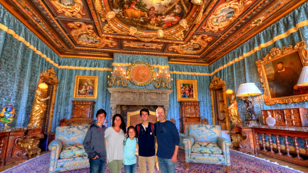 Hearst-Castle-Upstairs-Suites-Tour-Grand-Rooms-tours