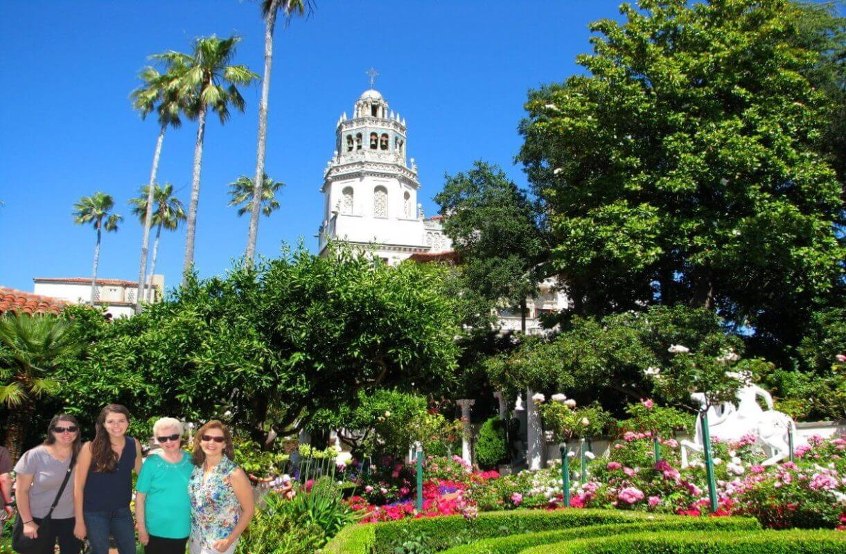 hearst-castle-garden-guided-tour
