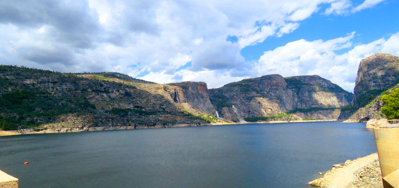 hetch_hetchy_valley_lake_o'shaughnessy_dam_reservoir_tuolumne_river